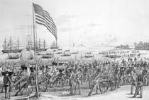 Landing of the Troops at Vera Cruz by American School