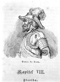 Juan Ponce de Leon by German School