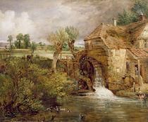 Mill at Gillingham, Dorset von John Constable