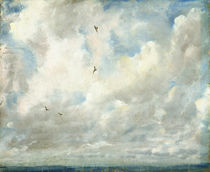 Cloud Study, 1821 von John Constable