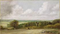Landscape: Ploughing Scene in Suffolk c.1824 von John Constable