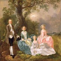 Mr and Mrs John Gravenor and their Daughters von Thomas Gainsborough