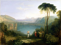 Lake Avernus: Aeneas and the Cumaean Sibyl von Joseph Mallord William Turner