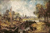 Dedham Lock, c.1820 von John Constable