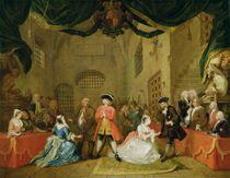 The Beggar's Opera, Scene III von William Hogarth
