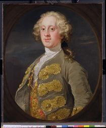 William Cavendish, Marquess of Hartington by William Hogarth