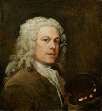 Self Portrait, c.1735-40 by William Hogarth