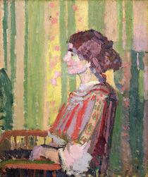 Mrs Robert Bevan, c.1913 by Harold Gilman