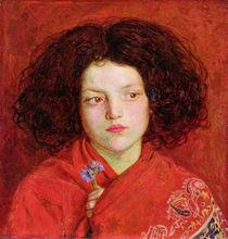 The Irish Girl, 1860 von Ford Madox Brown