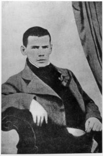 Lev Nikolaevich Tolstoy as a student by English School
