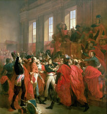 Bonaparte and the Council of Five Hundred at St. Cloud von Francois Bouchot