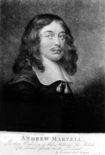 Andrew Marvell , engraved by John Raphael Smith von English School