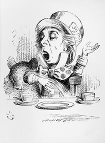 The Mad Hatter, illustration from 'Alice's Adventures in Wonderland' by John Tenniel