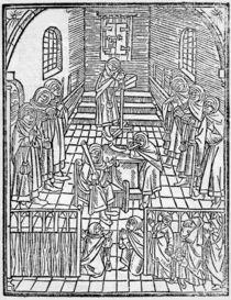 Jewish Confession, 1508 by German School
