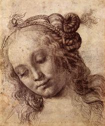 Woman Looking Down by Andrea del Verrocchio