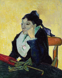 L'Arlesienne, 1888 by Vincent Van Gogh