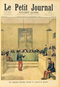 Captain Dreyfus before the Court Martial von Henri Meyer