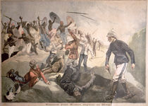 The Massacre of an English Mission in Benin von French School