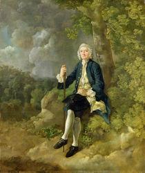 Mr Clayton Jones, c.1744-45 von Thomas Gainsborough