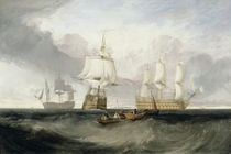 The 'Victory' Returning from Trafalgar by Joseph Mallord William Turner