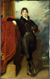 Lord Granville Leveson-Gower by Thomas Lawrence