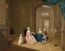 Portrait of a Group of Children von Arthur Devis