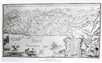 Map of Palestine, from a Passover Haggadah von Dutch School
