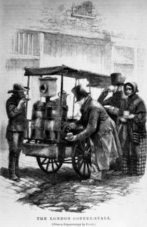The London Coffee-Stall by English School