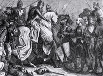 Henry III at the Battle of Lewes von Felix Philippoteaux