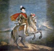 Equestrian Portrait of Philip III c.1628-35 von Diego Rodriguez de Silva y Velazquez