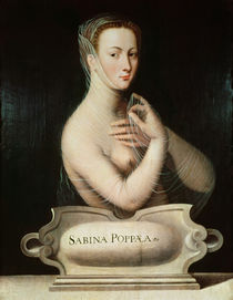 Sabina Poppaea, c.1570 by Fontainebleau School