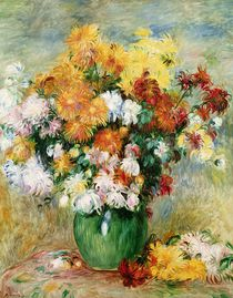 Bouquet of Chrysanthemums, c.1884 von Pierre-Auguste Renoir