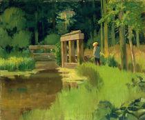 In a Park von Edouard Manet