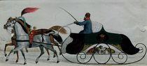 Horse Drawn Sleigh von Russian School
