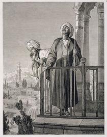 The Muezzin's Call to Prayer by Karl Wilhelm Gentz