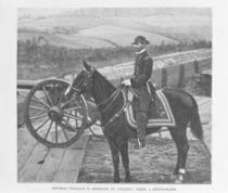 General William Tecumseh Sherman at Atlanta von George. M. Bell