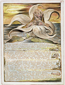 Jerusalem, plate 28 from chapter 2 von William Blake