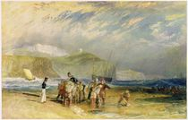Folkestone Harbour and Coast to Devon von Joseph Mallord William Turner