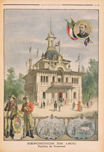 The Transvaal pavilion at the Universal Exhibition of 1900 von French School