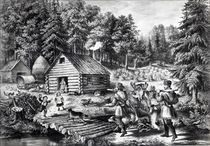 The Pioneer's Home on the Western Frontier von American School