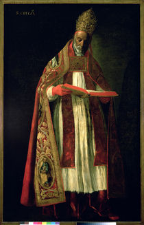St. Gregory the Great by Francisco de Zurbaran