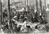 A Negro Camp Meeting in the South by Solomon Eytinge