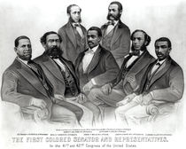 The First Colored Senator and Representatives by American School