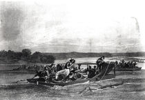 The Discovery of the Mississippi by de Soto by American School