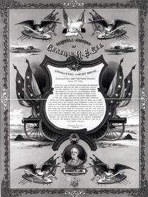 Farewell Address of General Robert E. Lee by American School
