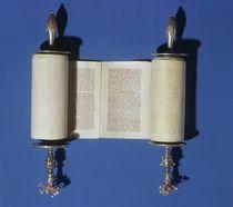 Miniature Torah Scroll, 1765 von English School
