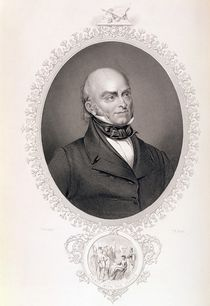 John Quincy Adams, from 'The History of the United States' by Savinien Edme Dubourjal