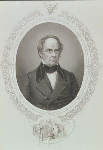 Daniel Webster, from 'The History of the United States' von Mathew Brady