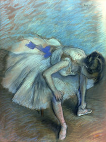 Seated Dancer, c.1881-83 by Edgar Degas