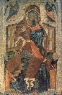 The Virgin of the Tolg, Yaroslavl School von Russian School
